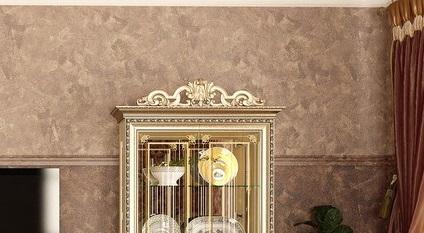 Корона №2 для шкафа 2 дв. Версаль