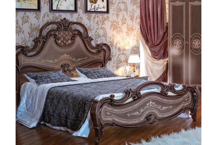 Кровать Грация орех