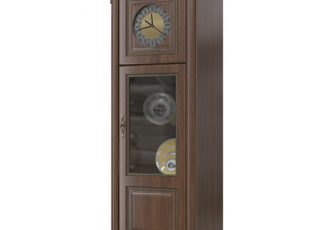 Шкаф с часами Да Винчи ГД-08 орех