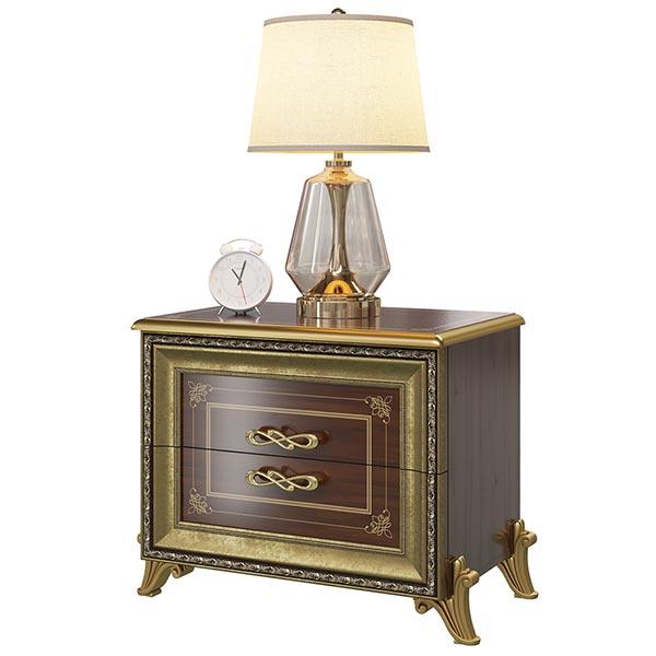 Тумба прикроватная Версаль орех Мэри мебель