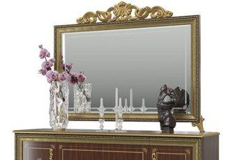 Зеркало без короны Версаль ГВ-06 орех