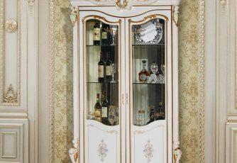 Шкаф 2-дверный Шейх ГШ-04 слоновая кость