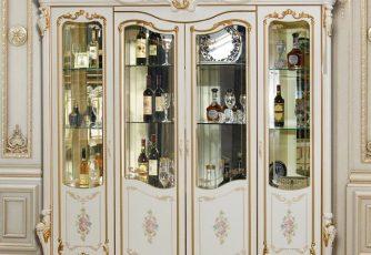 Шкаф 4-дверный Шейх ГШ-05 слоновая кость