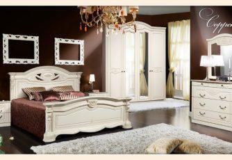 Спальня Сорренто бежевый