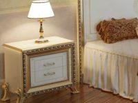 Тумба прикроватная Версаль слоновая кость Мэри мебель