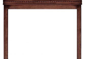 Зеркало Верди Люкс 2 П434.160 мореный дуб