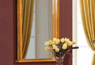 Зеркало Лика ММ-137-05 медовый дуб