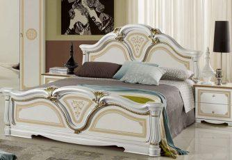 Кровать Гретта золото