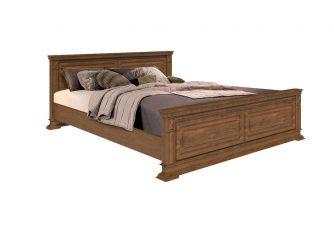 Кровать Верди Люкс мореный дуб