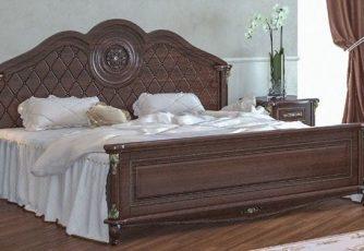 Кровать Да Винчи орех