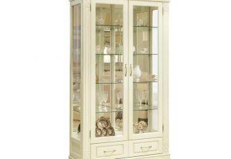 Шкаф-витрина Витовт 4 белый