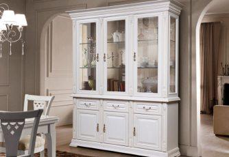 Шкаф-витрина Витовт 5 белый