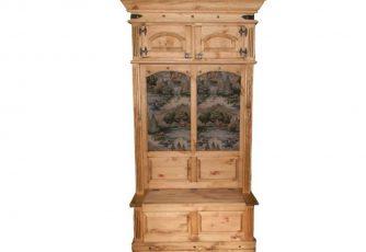 Шкаф комбинированный Викинг 05 Сосна