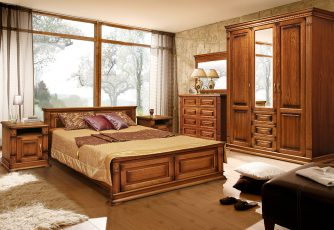 Спальня Верди Люкс мореный дуб