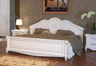 Кровать Да Винчи слоновая кость