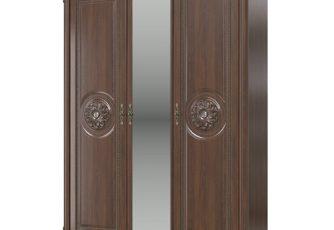 Шкаф 3-х дверный Да Винчи СД-09 орех