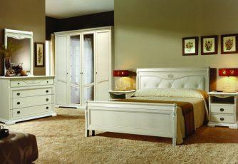 Спальня Лика белая эмаль