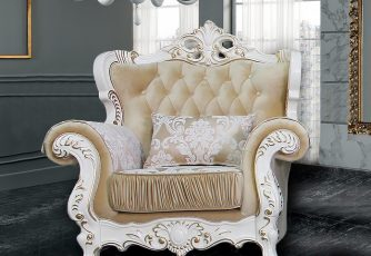 Кресло Прометей крем