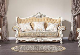 Комплект мягкой мебели Прометей крем