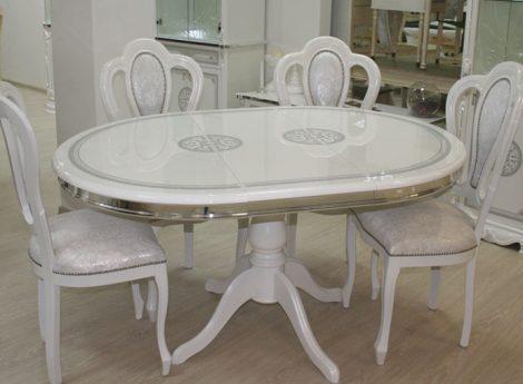 Овальные столы для гостиной